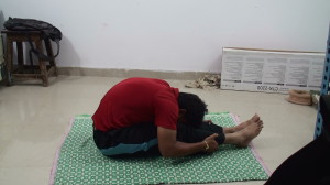 Paschimottanasana For Beginners