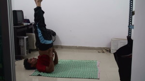 Sarvangasana For Beginners