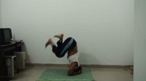 Pelvis forward - drop legs slowly