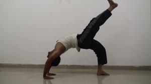 Wheel Pose or Chakrasana for beginners