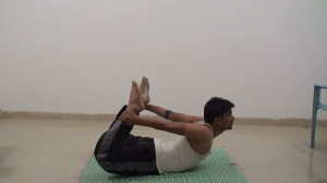Bow pose or Dhanurasana for Beginners