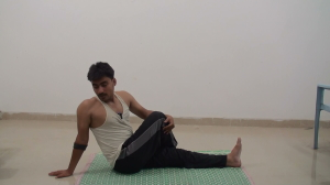 Advanced vakrasana or Twisted Pose for Beginners
