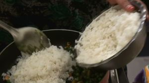 How to make Pudina Rice