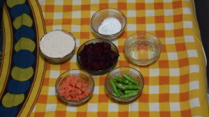 Beetroot chapathi recipe