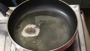 Add Mustard and Cumin seeds