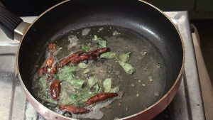 Add Curry leaves