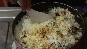 Lemon Rice Making