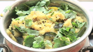 How to Make a Upma dish