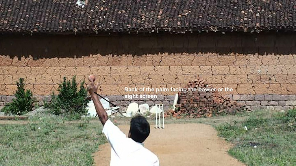 How to bowl Arm Ball Left arm spin